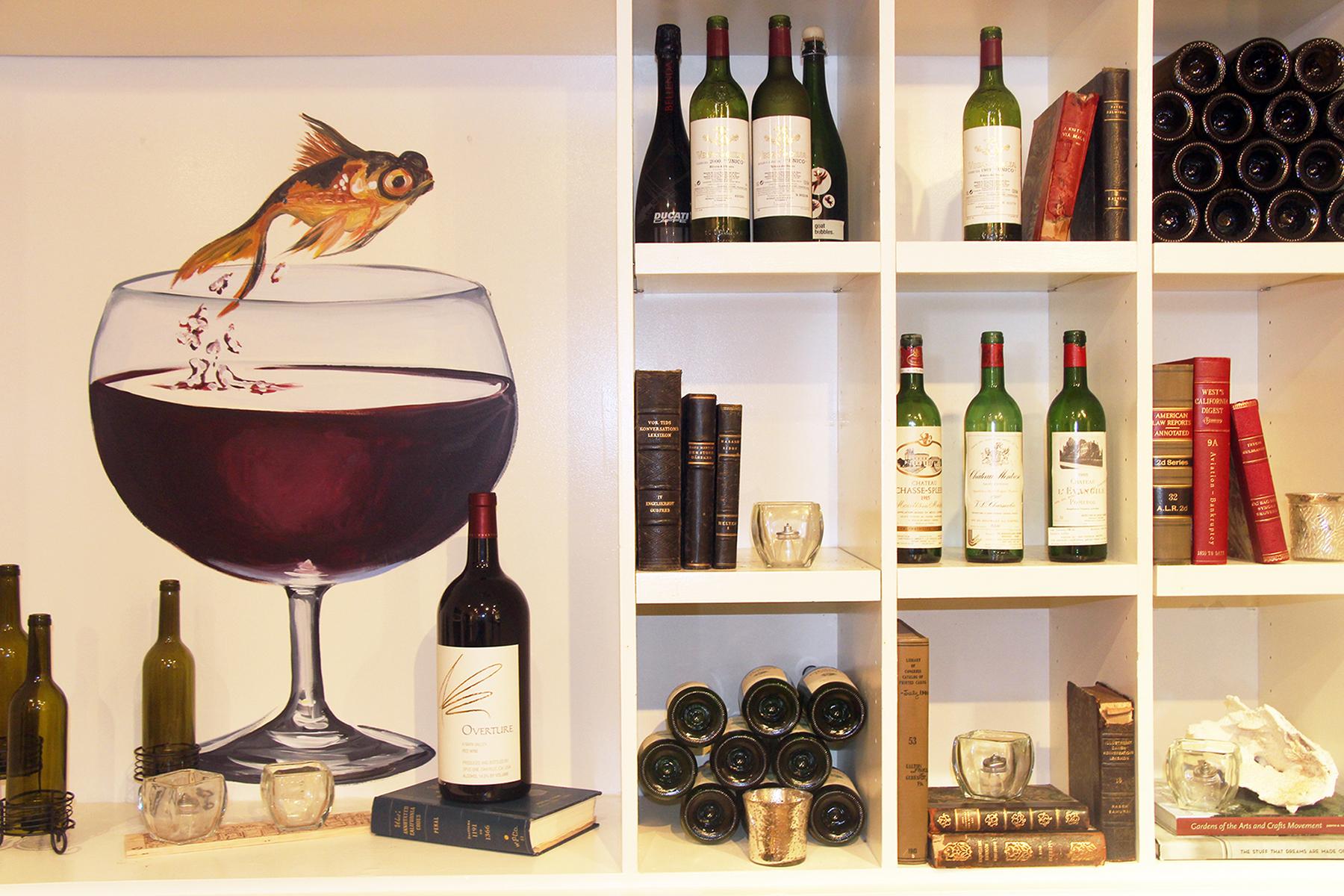 Wine Room Story - The Wine Room Vignette 1
